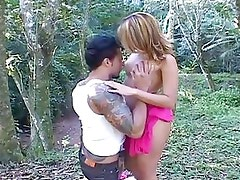 Hot Latina Lovefest In The Woods