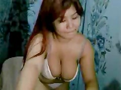 Asian Cam Girl with Gigantic Boobs 2