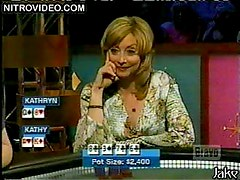 Kathy Najimy, Sharon Lawrence, Kathryn Morris & Caroline Rhea In Celebrity Poker