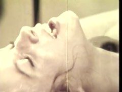 Retro Redhead Babe Sucks Cock and Gets Her Hairy Pussy Fucked Hard