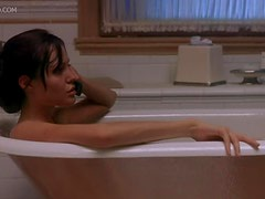 Angelina Jolie Looking Sexy In The Bathtub
