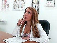 Doctor girl fucked in the ass