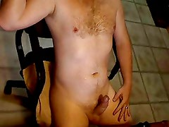 Stroking My Married Cock