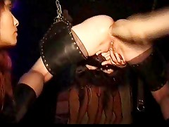 German bondage and anal fist. BdS