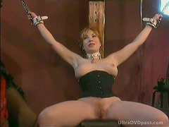 Busty Submissive Mature Gets Tied Up and Whipped By Super Hot Dominatrix