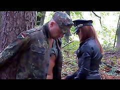 Femdom  Mistress German  Cruel Outdoor Punishment