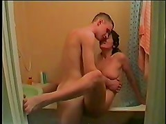 Happy wife fooling with horny boy - Rayra