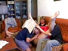 Mature Mother and 3 boys