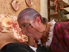 Granny Loves Young Cock In Every Hole !