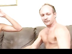 Teen is interviewed with one sleazy old man PART2