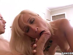 Sexy Blond MILF Gets Nailed!
