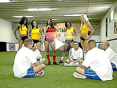 Soccer Girls Get Fucked Hard After Winning a Soccer Match