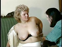 GRANNY AWARD n14 hairy bbw mature with a toung man