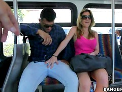 Using The Bus To Pick Up Chicks