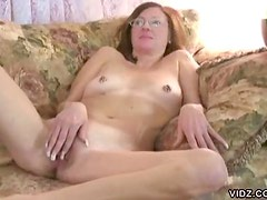 Redhead Mature Babe Masturbates and Shoots an Amateur Homemade Sex Tape