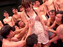 Mika Osawa gets tortured and mercilessly mouth-fucked