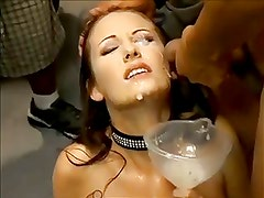 she loves to swallow cum