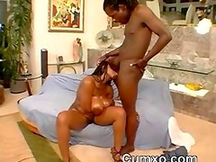 Ghetto Huge Black Tits Fucked And Pussy Licked