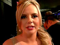 Bree Olson at adult awards show