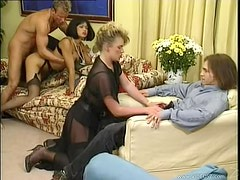 Amazing Orgy With Cock Sucking MILF Sluts