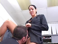 Busty MILF Veronica Rayne Milks A Hard Dick