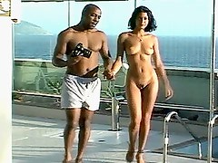 Interracial Oral Sex With Black Cock and Latin Pussy