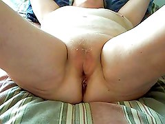 Wife Grinding for a big cock
