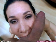 Tacori blu freckle face blowjob
