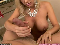 Milf engulf and tit fuck