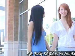 Tamara and Lacie girl were first timers shoots