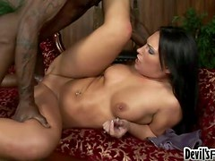 Naughty Katie Kayne Likes Her Long and Hard Visitor