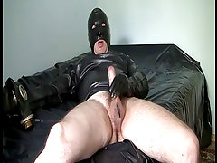 My Afternoon Masturbation in Rubber