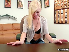 Rough Riding For A Blonde Teen In A POV Clip