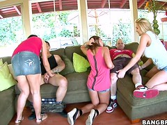 Playing Magical Pussy Group Sex Action Here