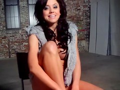 Lovely Brunette Kristi Michelle Goes Wild in an Erotic Video