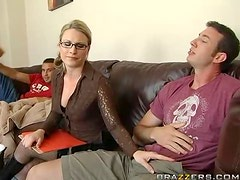 Double Penetrating Fun With The Sexy Blonde Babe Harmony Rose