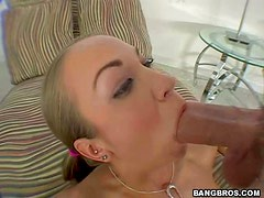 Big Dick Up A Trim Slut's Pussy.