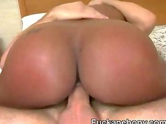 Afro Riding With Monster Ass And Sucking Two BBCs