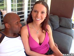 Big Black Cock For The Hot Jennifer Dark