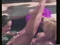 Nina Hartley pool