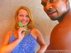Naughty Hot Babes Get Their Pink Cunts Fucked By a Black Guy