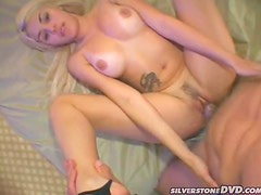 Hot Blonde with Amazing Butt Gets Her Wet Pussy Drilled
