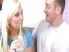 Sugary teen Kendra gets drilled