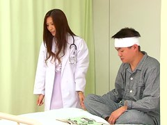 Nasty Yuna Shiina loves to suck cocks in a hospital
