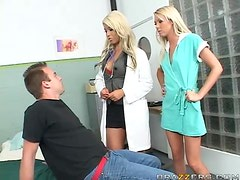 An Incredible Threesome With Two Hot Doctors