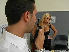A Strip Search Ends Up In An Anal Pounding