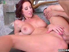 Jayden Jaymes injected with hard cock
