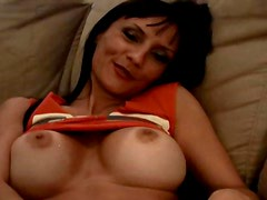 Amazing wife with big tits laid in homemade