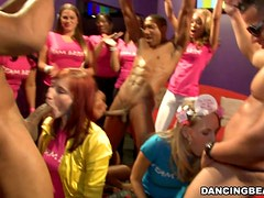 Girls Gone Wild At Stripper's Club.
