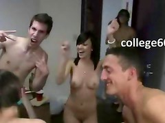 College sleek students fucking in hall